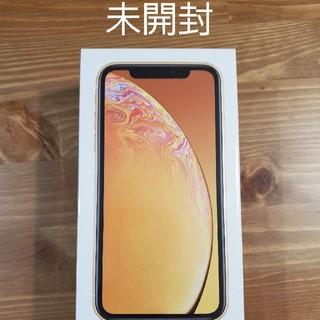 アイフォーン(iPhone)の【未開封】iPhone XR 256GB イエロー 【simフリー】(スマートフォン本体)
