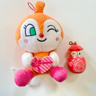 アンパンマン(アンパンマン)のドキンちゃん 人形 ぬいぐるみ 2個セット(ぬいぐるみ/人形)