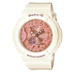 CASIO BABY-G カシオ ベビーG ホワイト/ピンク レディース 腕時計