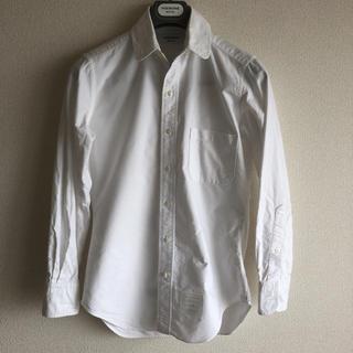 トムブラウン(THOM BROWNE)のトムブラウン THOM BROWNE ラウンドカラー ボタンダウンシャツ 0(シャツ)