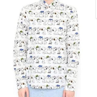 グラニフ(Design Tshirts Store graniph)の【最終お値下げ】グラニフ スヌーピー きょうだいたち シャツ(シャツ/ブラウス(長袖/七分))