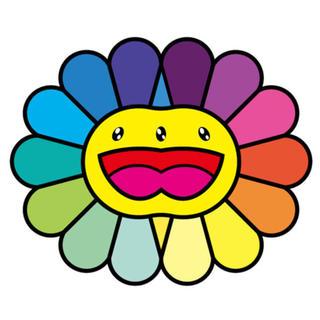 最安値 Multicolor Double Face yellow 村上隆 版画(版画)