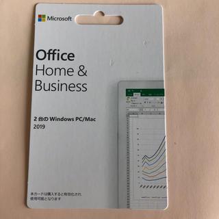 マイクロソフト(Microsoft)のMicrosoft Office Home & Business 2019 正規(その他)