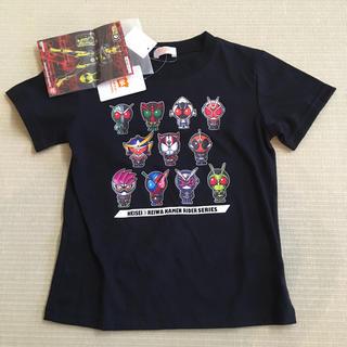 シマムラ(しまむら)の仮面ライダー Tシャツ 黒 130cm(Tシャツ/カットソー)