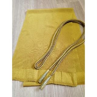 正絹ちりめん素材 帯揚げ 帯締めセット(和装小物)
