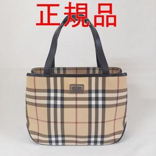 BURBERRY - 大幅値下げ【超美品】バーバリー ノバチェック ミニトート ハンドバッグ
