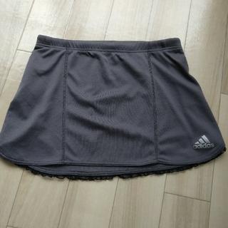 アディダス(adidas)のミニスカート ライトグレー(ミニスカート)