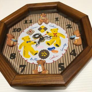 bear掛け時計‼️(掛時計/柱時計)