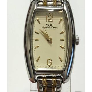 オリエント(ORIENT)の205 時計 特美品 使用少 オリエント YOU 日本製 レディース お洒落(腕時計)