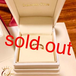 サマンサティアラ(Samantha Tiara)の【売り切れました】サマンサティアラ ピンキーリング(リング(指輪))