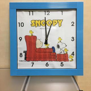 スヌーピー(SNOOPY)のスヌーピーの掛け時計(掛時計/柱時計)