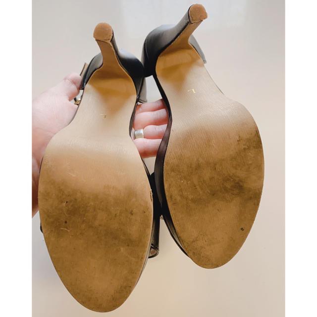 神戸レタス(コウベレタス)のヒール13cm【神戸レタス】サンダル黒 レディースの靴/シューズ(ハイヒール/パンプス)の商品写真