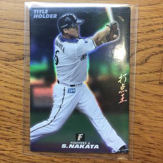 北海道日本ハムファイターズ - プロ野球チップス2015カード タイトルホルダー 中田翔