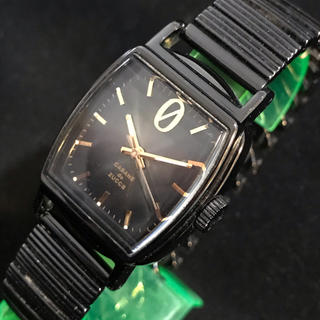 カバンドズッカ(CABANE de ZUCCa)のカバンドズッカ 黒×金 レディースクォーツ セイコーmov 3針モデル(腕時計)