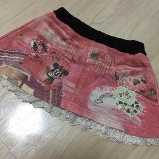 ディズニー(Disney)のデニム風スカート(スカート)