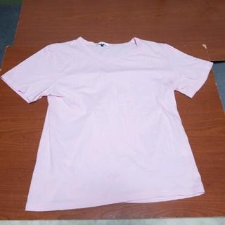 エムケーミッシェルクランオム(MK MICHEL KLEIN homme)のMK KLEIN HOMME PLUS Tシャツ 桃色 46サイズ(S相当)(Tシャツ/カットソー(半袖/袖なし))