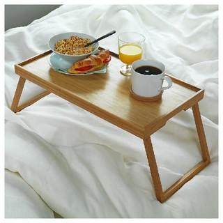 【新品】 IKEA RESGODS レスゴドス ベッドトレイ 竹(折たたみテーブル)