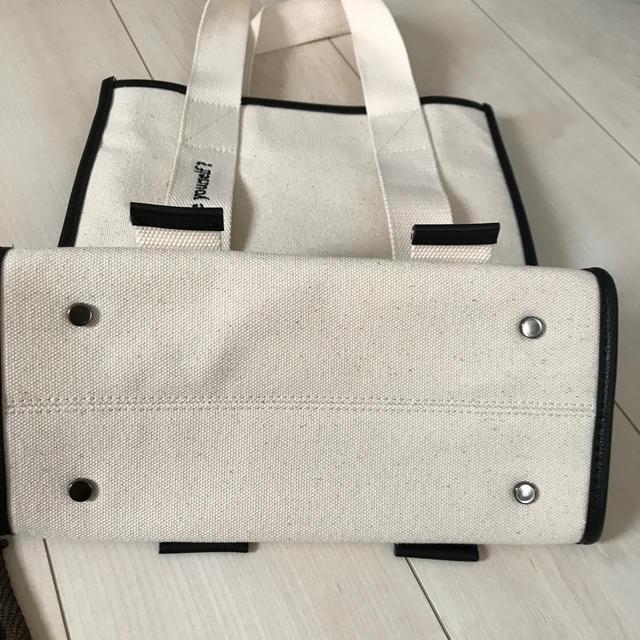 ZARA(ザラ)のZARA ザラ コットン キャンバス トート バック レディースのバッグ(トートバッグ)の商品写真