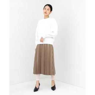 HYKE - 未使用☆hyke プリーツスカート tan サイズ2