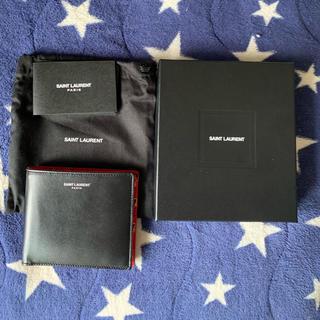 サンローラン(Saint Laurent)のサンローラン イタリア限定折りたたみ財布(折り財布)