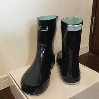 トッカ(TOCCA)のTOCCA キッズ レインブーツ 23㎝(長靴/レインシューズ)