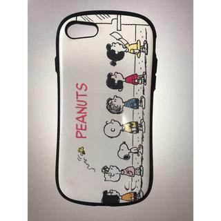 ピーナッツ(PEANUTS)のiFace  iPhone7/8  スヌーピー (iPhoneケース)