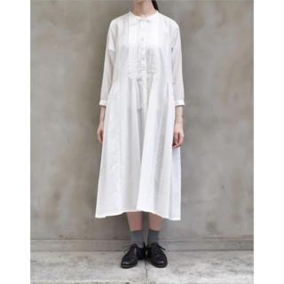 イクナ(ikkuna)のikkuna suzuki takayuki shirt dress(ロングワンピース/マキシワンピース)