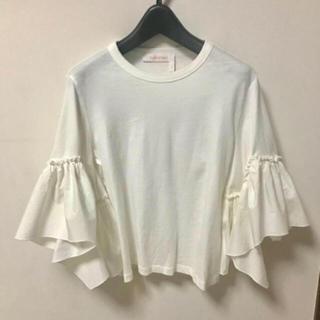 ドゥロワー(Drawer)のクロエ  フレアTシャツ(Tシャツ(半袖/袖なし))