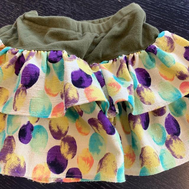 ANNA SUI mini(アナスイミニ)のアナスイミニ  キュロット 130 キッズ/ベビー/マタニティのキッズ服女の子用(90cm~)(スカート)の商品写真