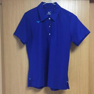 ミズノ(MIZUNO)のミズノスポーツ 半袖ポロシャツ Mサイズ ブルー(ポロシャツ)