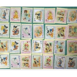 ディズニー(Disney)のディズニー☆OPPテープ☆切手柄フレークシール☆28枚☆☆☆(テープ/マスキングテープ)
