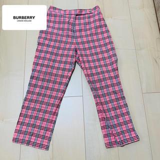 BURBERRY - BURBERRY チェックパンツ