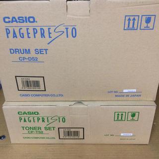 カシオ(CASIO)のCASIO 純正品セット◼︎PAGEPRESTO CP-TS2・CP-DS2(オフィス用品一般)