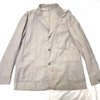 ポールハーデン(Paul Harnden)の50'sビンテージ ブリティッシュ リネンワークジャケット カバーオール グレー(カバーオール)