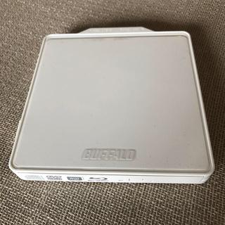 バッファロー(Buffalo)のBUFFALO BRXL-PC6VU2C ブルーレイ・DVDポータブルドライブ(ブルーレイプレイヤー)