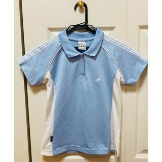 アディダス(adidas)の*美品* adidas ポロシャツ トレーニングウェア レディース(ポロシャツ)