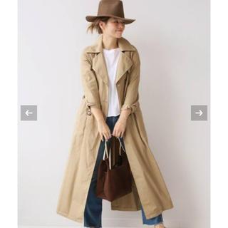 DEUXIEME CLASSE - 2018AW  ドゥーズィエムクラス long trench coat