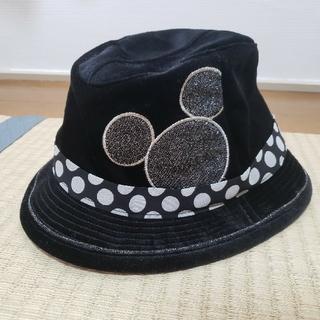 ディズニー(Disney)の【Disney・帽子】TDR公式/ミッキー/ハット黒(ハット)