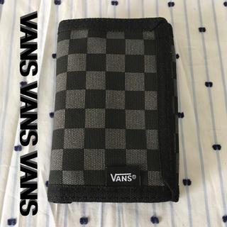 ヴァンズ(VANS)のVANSバンズUS限定チェッカーフラッグバリバリSK8ウォレット財布 blk(スケートボード)