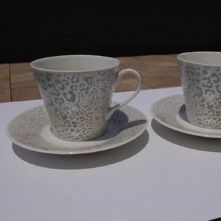 ジバンシィ(GIVENCHY)のGIVENCHY ペアコーヒーカップセット(グラス/カップ)