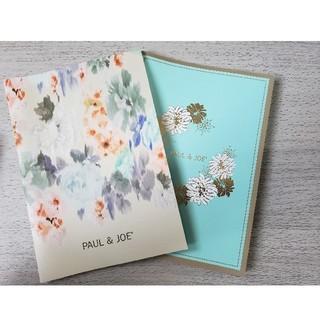 ポールアンドジョー(PAUL & JOE)のPAUL & JOE ポールアンドジョー ノート 2冊セット(ノート/メモ帳/ふせん)