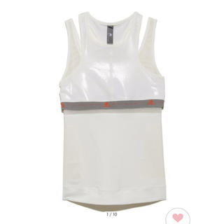 アディダスバイステラマッカートニー(adidas by Stella McCartney)の【adidas by Stella McCartney】RUN TANK(ウェア)