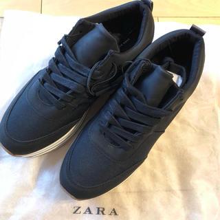 ザラ(ZARA)の新品*Zara ザラ 厚底 スニーカー 39 25.5(スニーカー)