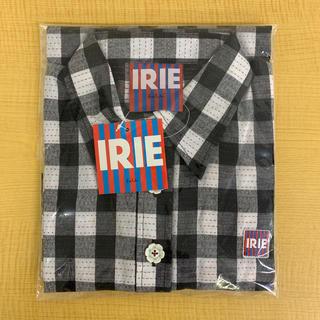 アイリーライフ(IRIE LIFE)の◆新品未使用◆irie life 白黒チェック柄半袖チュニック ワンサイズ(チュニック)