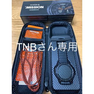 ニクソン(NIXON)のNIXON  THE MISSION  androidwear(腕時計(デジタル))