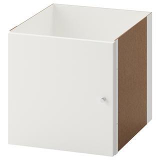 イケア(IKEA)の【新品未使用】IKEA KALLAXイケア カラックス インサート扉 白 2個(棚/ラック/タンス)