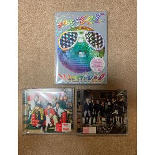 ジャニーズウエスト(ジャニーズWEST)のジャニーズWEST blu-ray CD セット(アイドル)