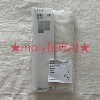 イケア(IKEA)の★ moly様専用★IKEA LEN 伸長式ベッド用シーツ 80×165(シーツ/カバー)