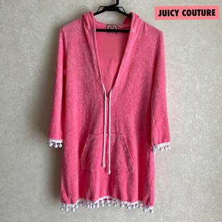 ジューシークチュール(Juicy Couture)のJuicyCouture ジューシークチュール パイル地 フード付き ワンピース(ルームウェア)