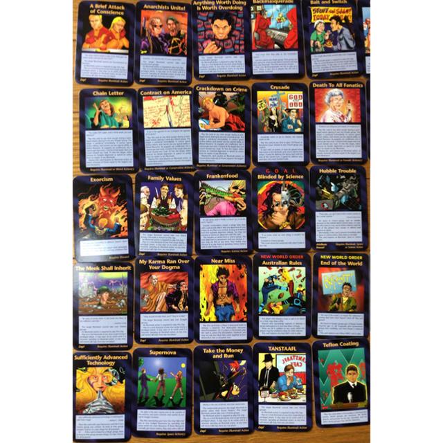 イルミナティ カード 2020